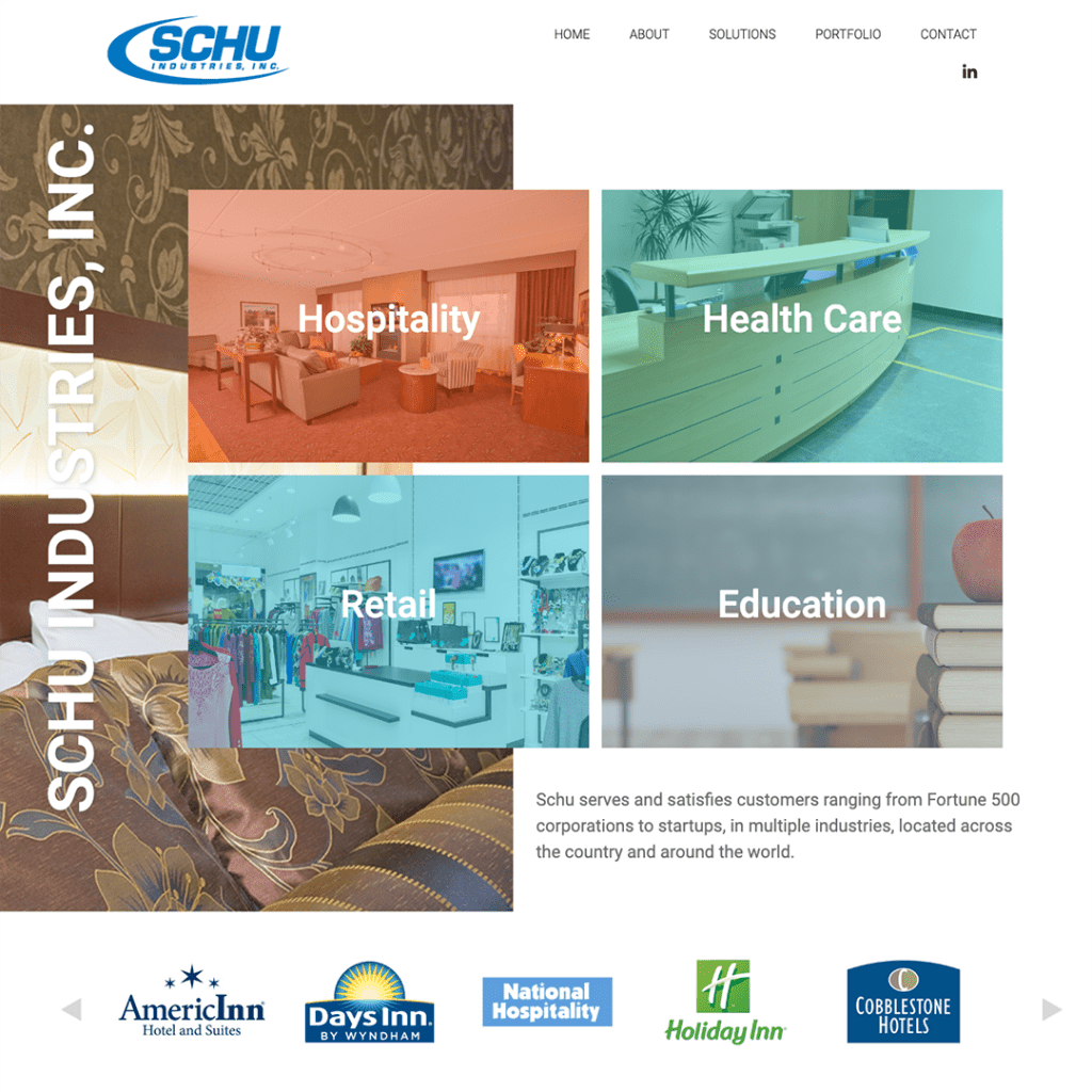 Schu Industries Website