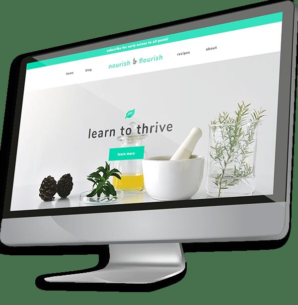 Website in the Tablet